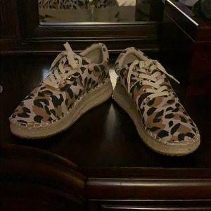 Quote cheetah print shoes